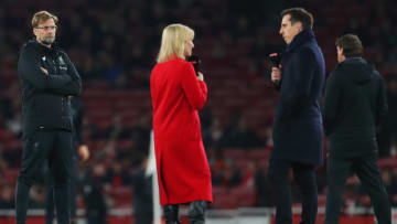 Jurgen Klopp has hit out at Gary Neville over ESL comments