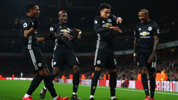 Jesse Lingard danced away to Arsenal to pop United fans