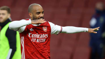 Alexandre Lacazette's future at Arsenal will be decided in the summer