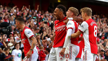 Arsenal cruised to victory in Sunday's derby