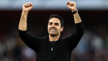 Mikel Arteta was over the moon with Arsenal's north London derby display
