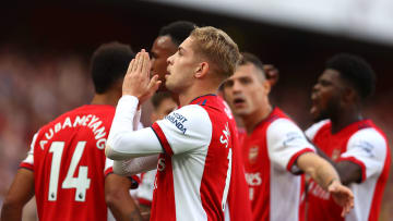 Emile Smith Rowe earned the player of the match award
