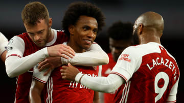 Willian spent just one season at Arsenal