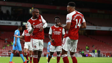 Aubameyang and Lacazette will miss the clash with Brentford