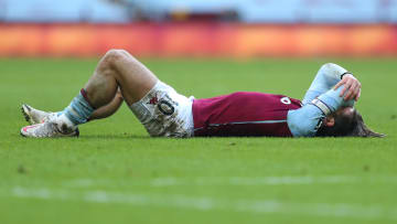 Grealish hadn't missed a league game before Sunday's fixture with Leicester