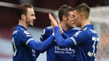 James Maddison and Harvey Barnes got the goals for the Foxes