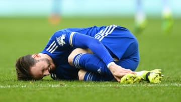 Maddison is out of Leicester's Europa League second leg