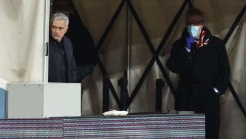 Mourinho is under pressure to turn Spurs' fortunes around
