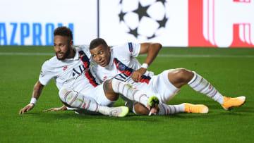 Neymar, Kylian Mbappe