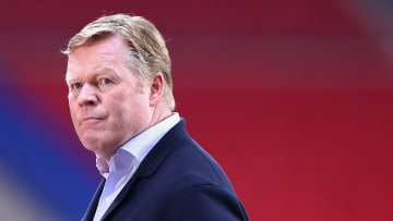 Koeman is under pressure at Camp Nou