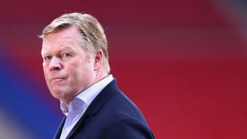 Ronald Koeman took charge of Barcelona at the start of the season