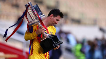 Lionel Messi is Barcelona's all-time record goalscorer with 672 goals