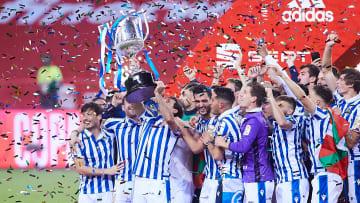 Com a vitória na Copa do Rei da Espanha, o Real Sociedad encerra um jejum de títulos que já durava 34 anos.