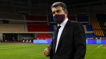 Barcelona president Joan Laporta has broken his silence regarding the Super League