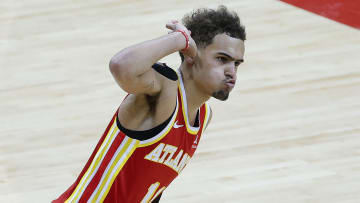 Trae Young is taking his team soaring past expectations.