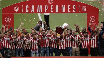 Atletico Madrid y La Liga title