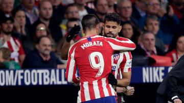 Morata y Costa, dos de los fichajes más caros del Cholo en el Atlético de Madrid