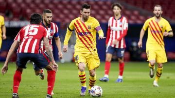 Barcelona e Atlético de Madrid se enfrentam pela 35ª rodada da LaLiga.