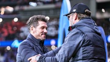 Diego Simeone y Jürgen Klopp