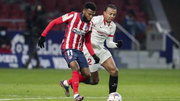 Les Français Thomas Lemar et Jules Koundé vont s'affronter ce dimanche, dans un choc de Liga.