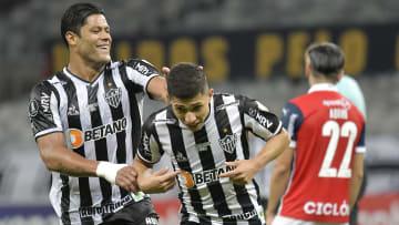 Hulk e Savarino se destacam em goleada do Galo sobre o Deportivo La Guaira na Copa Libertadores.