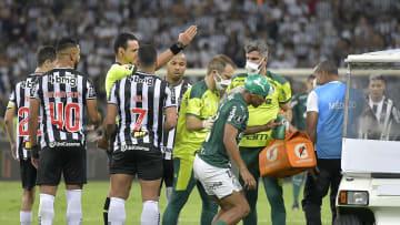 Palmeiras hizo un gol no lícito ante Atlético Mineiro por la Libertadores.
