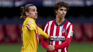An Antoine Griezmann/Joao Felix swap deal is doing the rounds