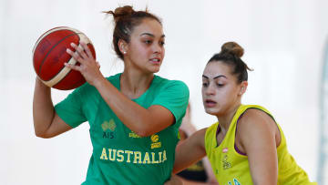 Australia vs Belgium prediction, odds, betting lines & spread for Olympic women's basketball game on Tuesday, July 27.