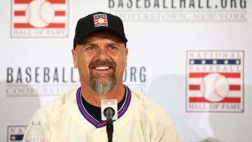 Rockies legend Larry Walker will actually serve as the Avs' emergency goalie this Sunday.