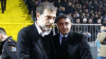 Beşiktaş'ın eski teknik direktörü Slaven Bilic ile Kayserispor, Kasımpaşa ve Trabzonspor'da görev yapan Shota Arveladze