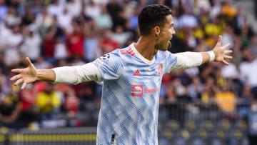 Cristiano Ronaldo'nun gol sevinci