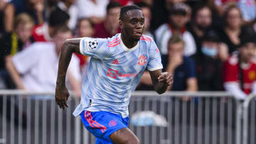 Aaron Wan-Bissaka was dismissed against Young Boys