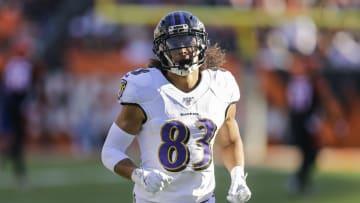 Baltimore Ravens wide receiver Willie Snead