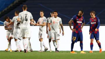 Bayern beat Barcelona in Lisbon