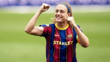 Alexia Putellas conduziu o Barcelona numa temporada de hegemonia