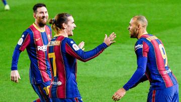 Martin Braithwaite marque le but de la qualification qui hisse le Barça en finale de Copa del Rey.