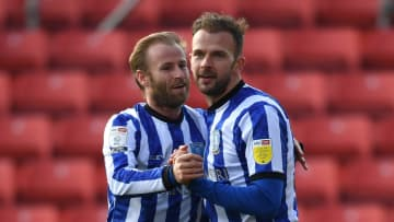 Jordan Rhodes' brace helped Sheffield Wednesday grab a crucial win over Barnsley