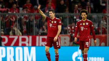 Überragendes Duo: Lewandowski und Sané