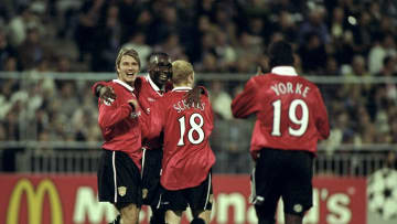 Beckham, Cole, Scholes and Yorke