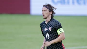 Luka Modric hit out at the 'arrogant' English media about their country's Euro 2020 hopes