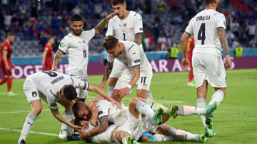 L'Italie rejoint le dernier carré de l'Euro 2020.