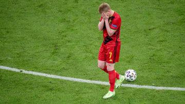 Kevin De Bruyne a joué blessé face à l'Italie