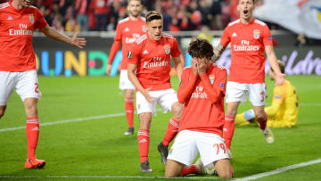 Felix netted an historic hattrick for Benfica
