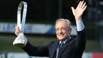 Florentino Perez is the key mastermind behind the Super League