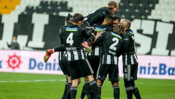 Beşiktaş'ın gol sevinci
