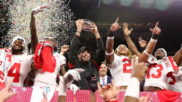 The Big Ten schools that could compete for the college football National Championship in 2021.