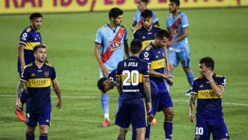 """Boca Juniors v Arsenal - La preocupación de los futbolistas """"Xeneizes""""."""