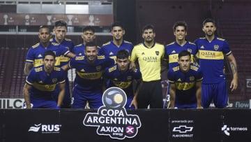 Boca Juniors v Claypole - Copa Argentina 2021 - La formación de Boca.