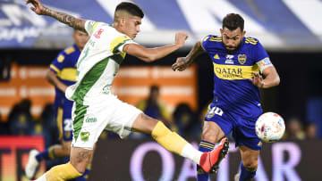 Boca Juniors v Defensa y Justicia - Copa De La Liga Profesional 2021