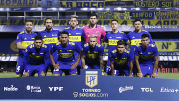 The eleven starters that Battaglia will seek to consolidate in Boca Juniors.